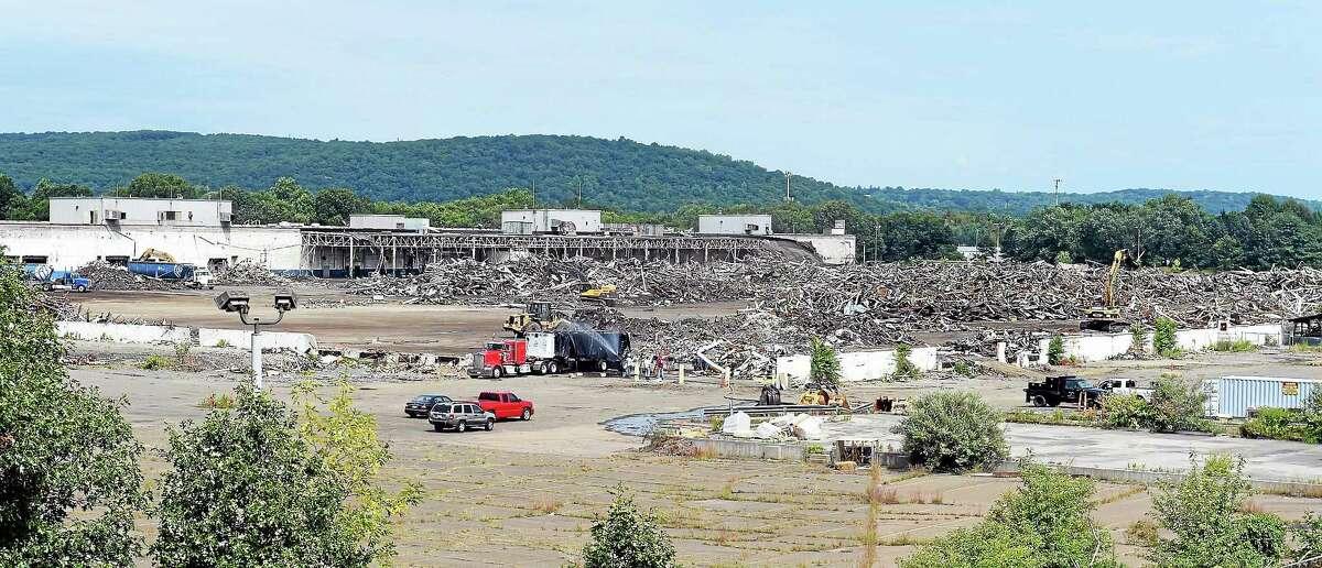 The former Pratt & Whitney site in 2014.