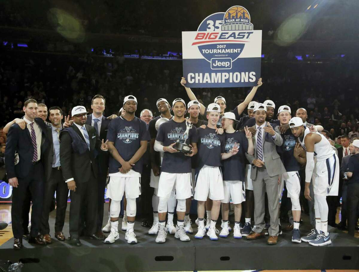 Big East champion Villanova is the top overall seed for the men's basketball NCAA Tournament.