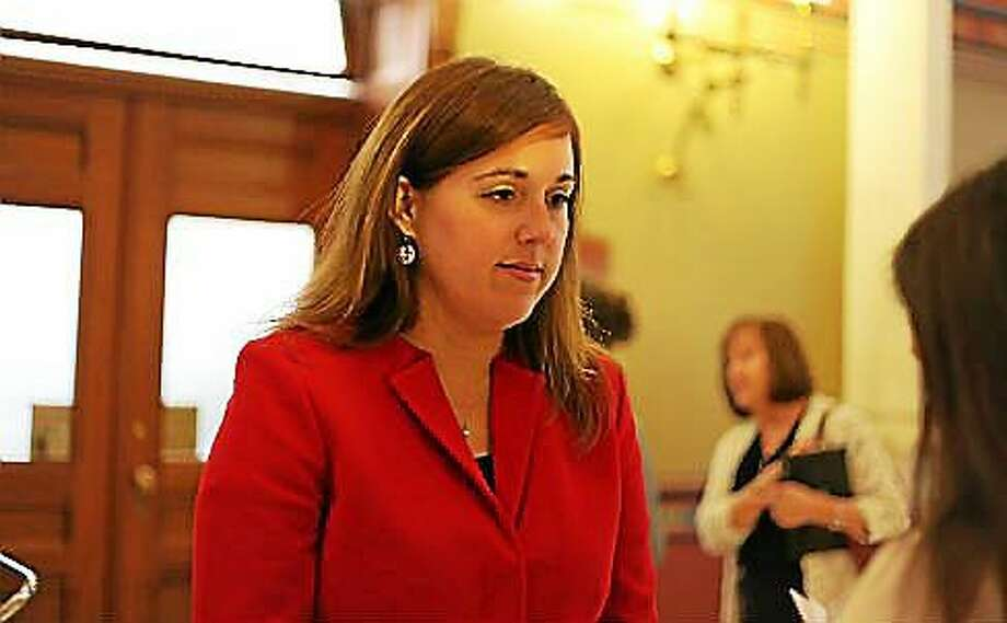 """Newly elected Republicans on the General Assembly have proposed bills that will reignite the abortion debate at the state Capitol. """"We're here today to stand up and say, 'That's not the direction Connecticut is going to move in with our long history of protecting women's health care,'"""" Sen. Mae Flexer said Monday Photo: Christine Stuart — CT News Junkie FILE"""