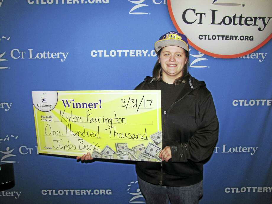 Kylee Farrington of Ansonia recently won a $100,000 lottery prize. Photo: CONTRIBUTED PHOTO — CT Lottery