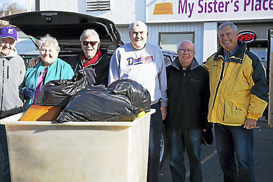 Warner Group's 10th annual Clothing Drive. Photo: CONTRIBUTED PHOTO