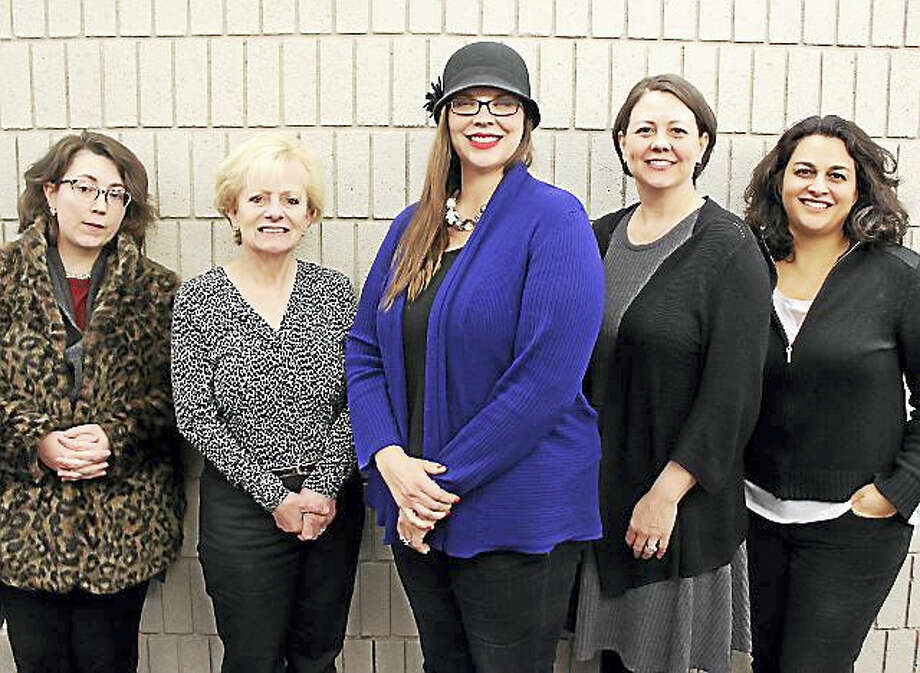 NMS faculty members, from left, Alexis Zingale, piano; Elaine Thoma, flute; Cybil Jones-Juarez, mezzo-soprano; Julie Asuma-Levene, clarinet; and Deborah Lifton, soprano; are among the performers. Photo: Photo Courtesy Of Heather Schnabel