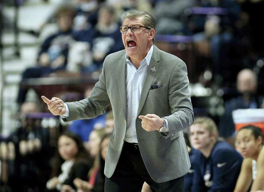 UConn coach Geno Auriemma. Photo: The Associated Press File Photo   / AP2017