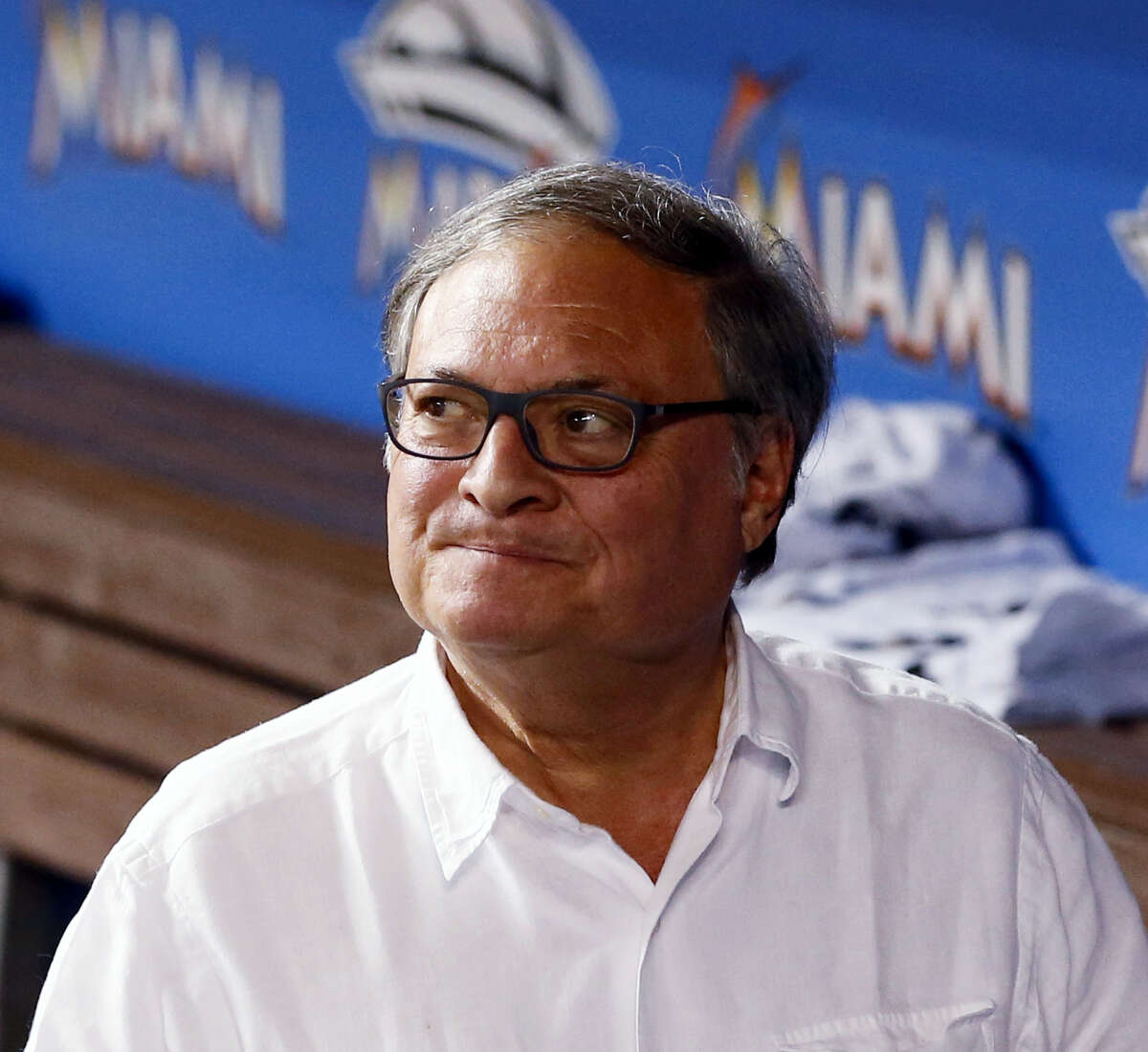 Miami Marlins owner and CEO Jeffrey Loria.