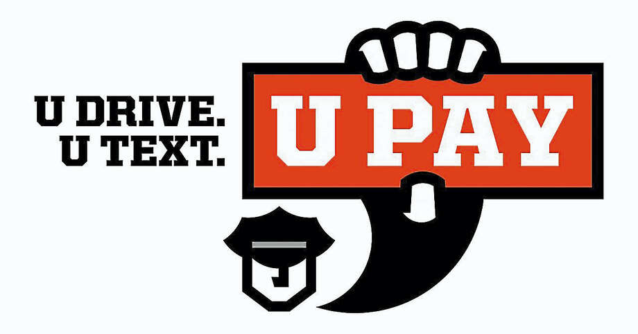 Guilford police will step up distracted driving enforcement through April 30, 2017 as part of the U Text. U Drive. U Pay. prevention and awareness campaign. Photo: Promotional Image Provided By U.S. Department Of Transportation