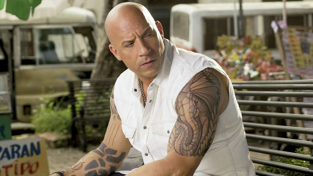 """This image released by Paramount Pictures shows Vin Diesel as Xander Cage in """"xXx: The Return of Xander Cage."""""""
