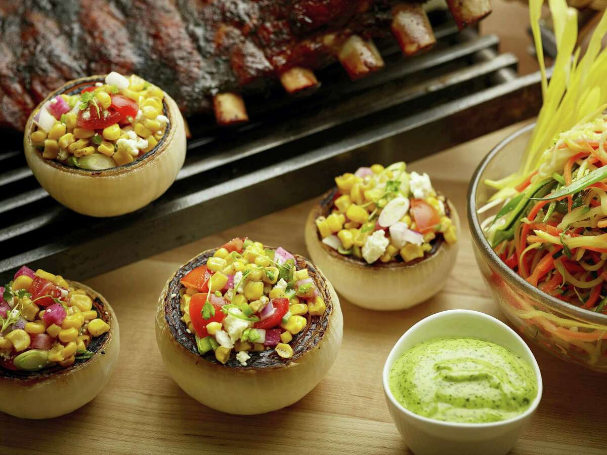 Mexican-style corn salad.