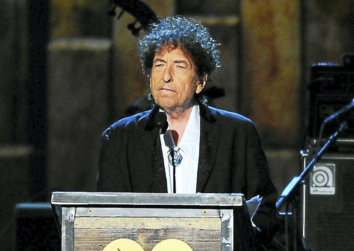 Bob Dylan at an event in 2015.