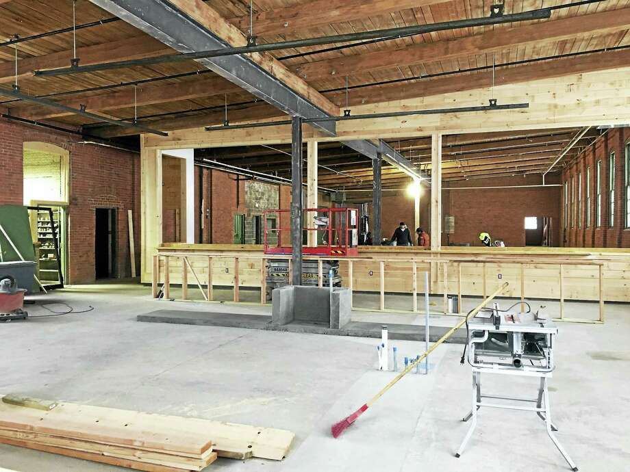 The former Manger Die Casting Co. is being renovate for the BAD Sons Brewing Company Photo: Courtesy Of PB&J Design Inc