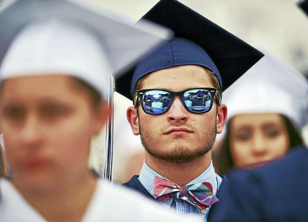 The Morgan School in Clinton held commencement exercises Tuesday.
