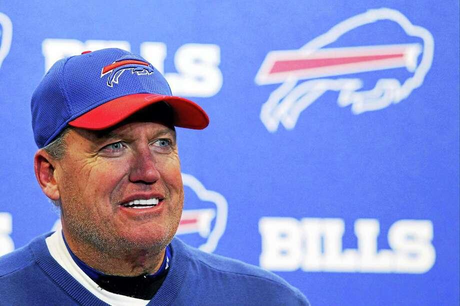 Former Bills head coach Rex Ryan. Photo: The Associated Press File Photo   / FR170745 AP