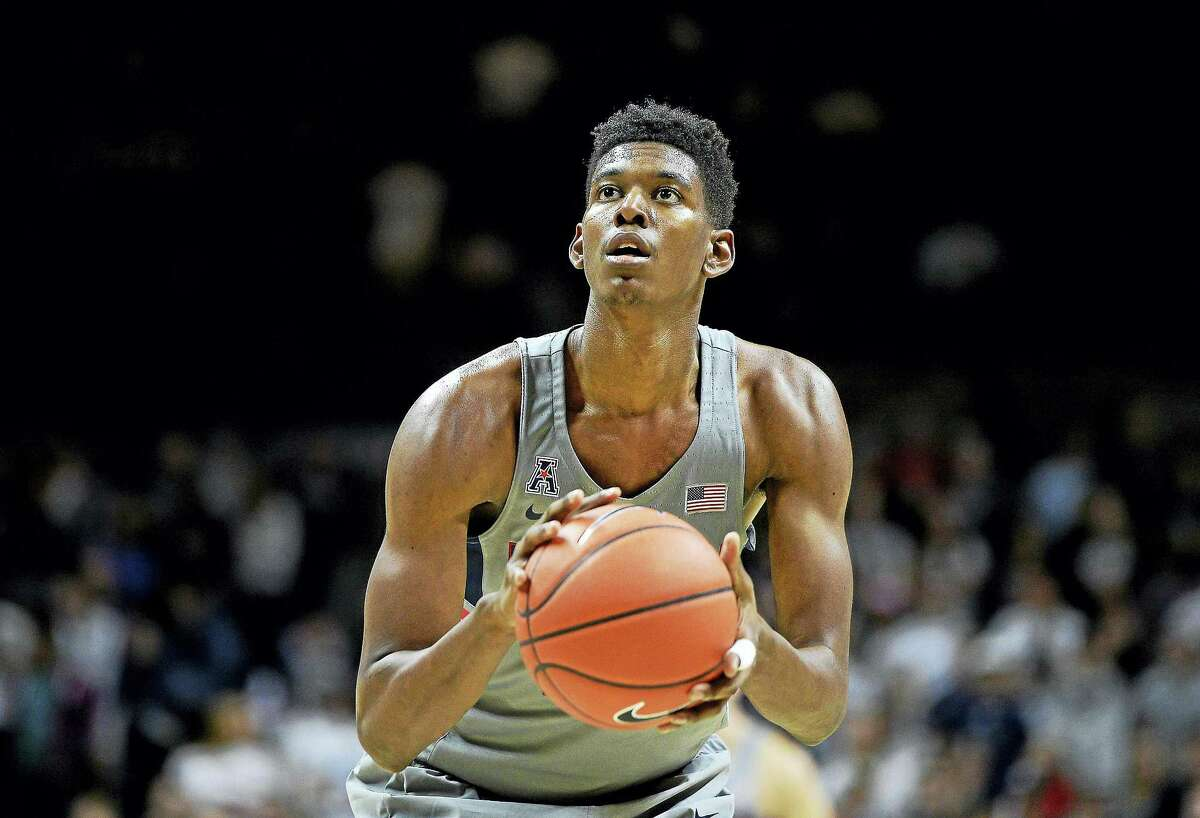 The Associated Press file photo Juwan Durham announced that he is leaving UConn.