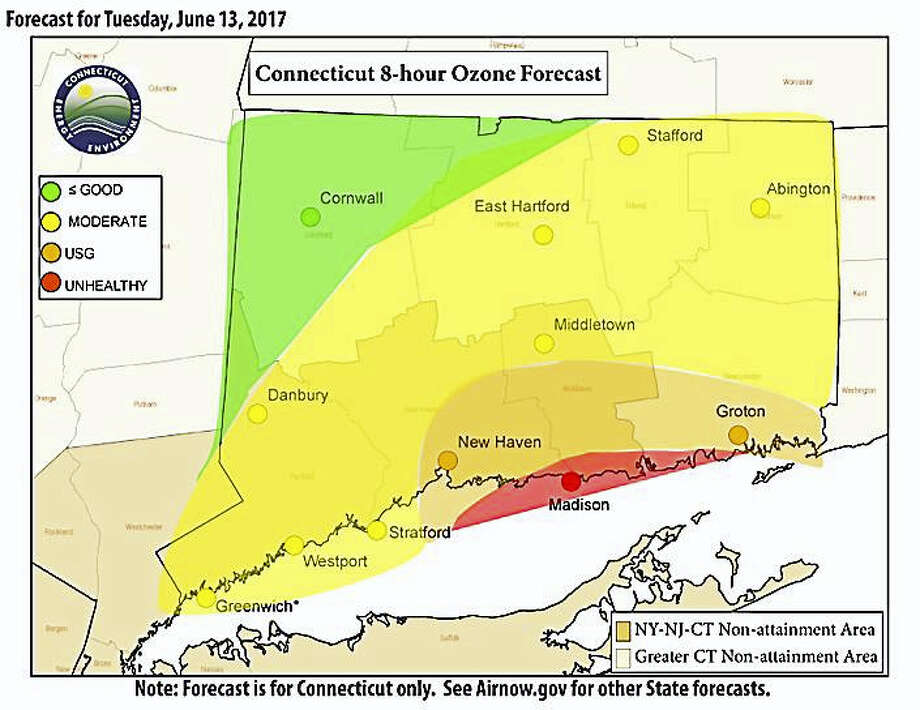 Poor Air Quality Warning For Greater New Haven Extended To Tuesday