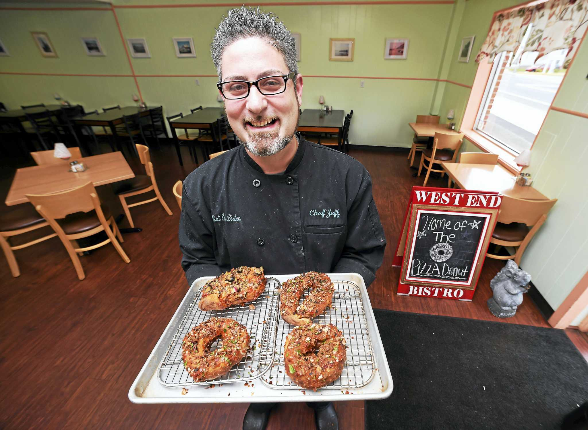 West Haven Eaterys Pizza Donut Goes Viral New Haven Register