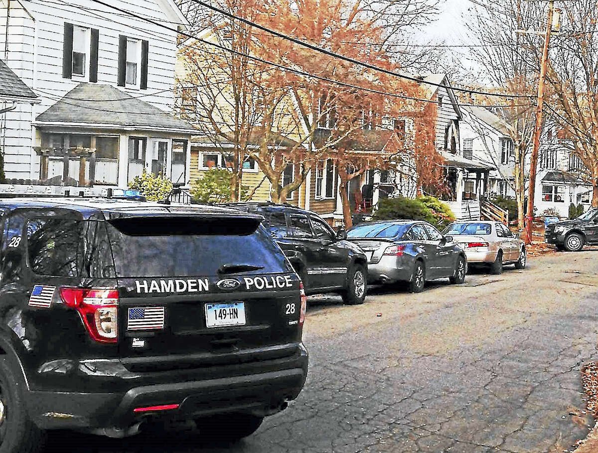 Hamden police investigate after a fire at home on Lilac Avenue in 2015. Jennifer Antonier, 45, was found dead after the fire.