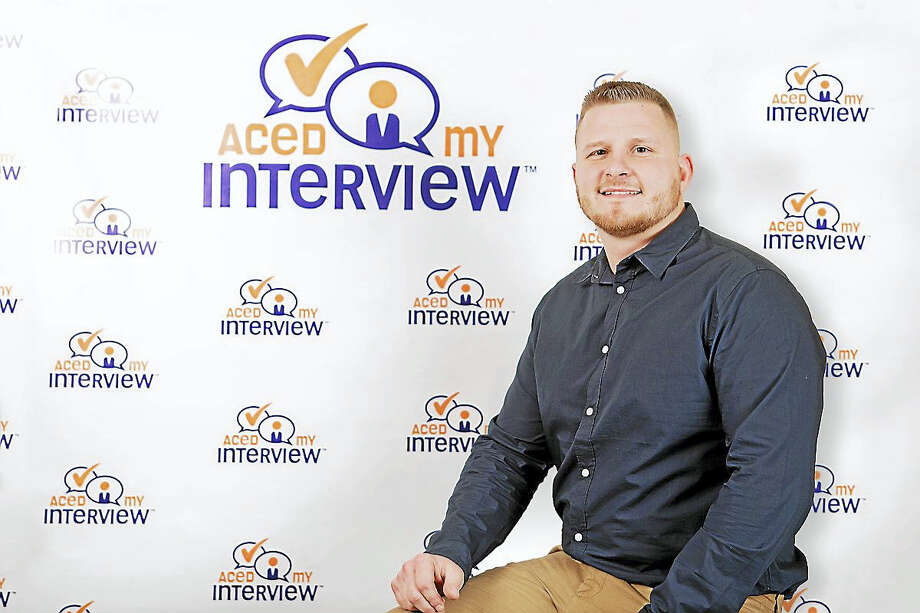 "Daniel Thornberg of Milford, and business partner Doug Unger, created ""Aced My Interview,"" which uses digital tools to connect clients with human resource experts. Photo: CONTRIBUTED PHOTO"