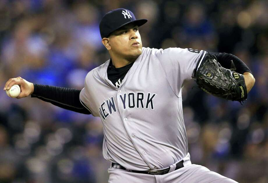 Yankees relief pitcher Dellin Betances. Photo: The Associated Press File Photo   / Copyright 2016 The Associated Press. All rights reserved.