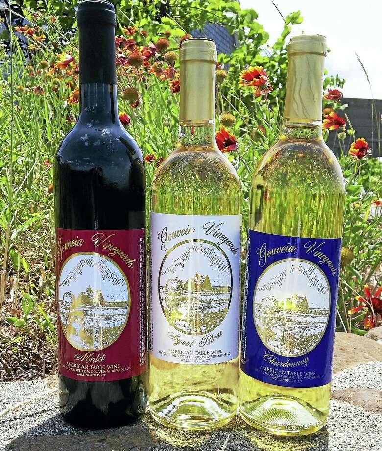 A sample of Gouveia's wine. Photo: Photo Courtesy Of Gouveia Vineyards