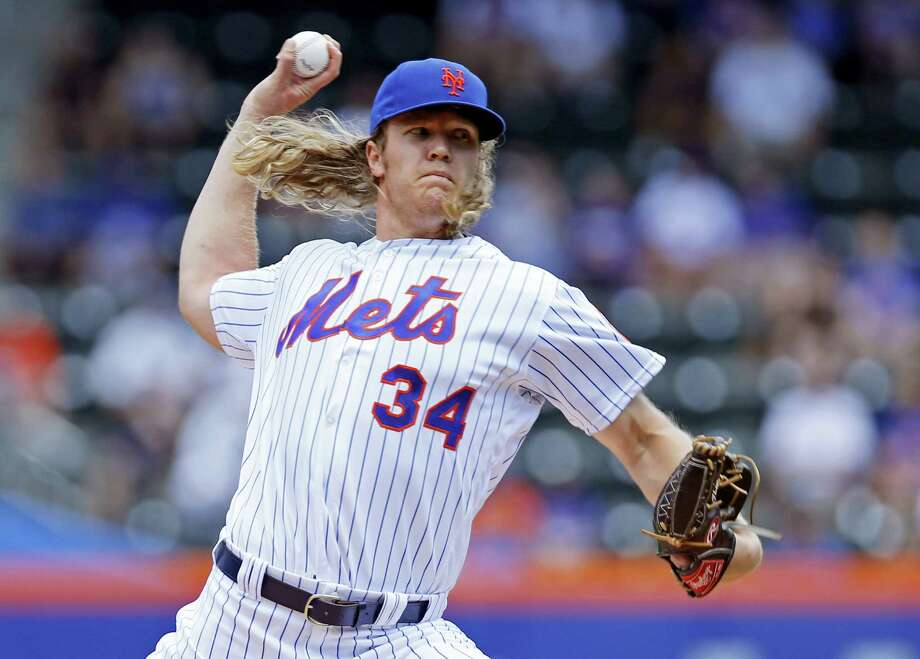 New York Mets starting pitcher Noah Syndergaard. Photo: The Associated Press File Photo   / Copyright 2016 The Associated Press. All rights reserved. This material may not be published, broadcast, rewritten or redistribu