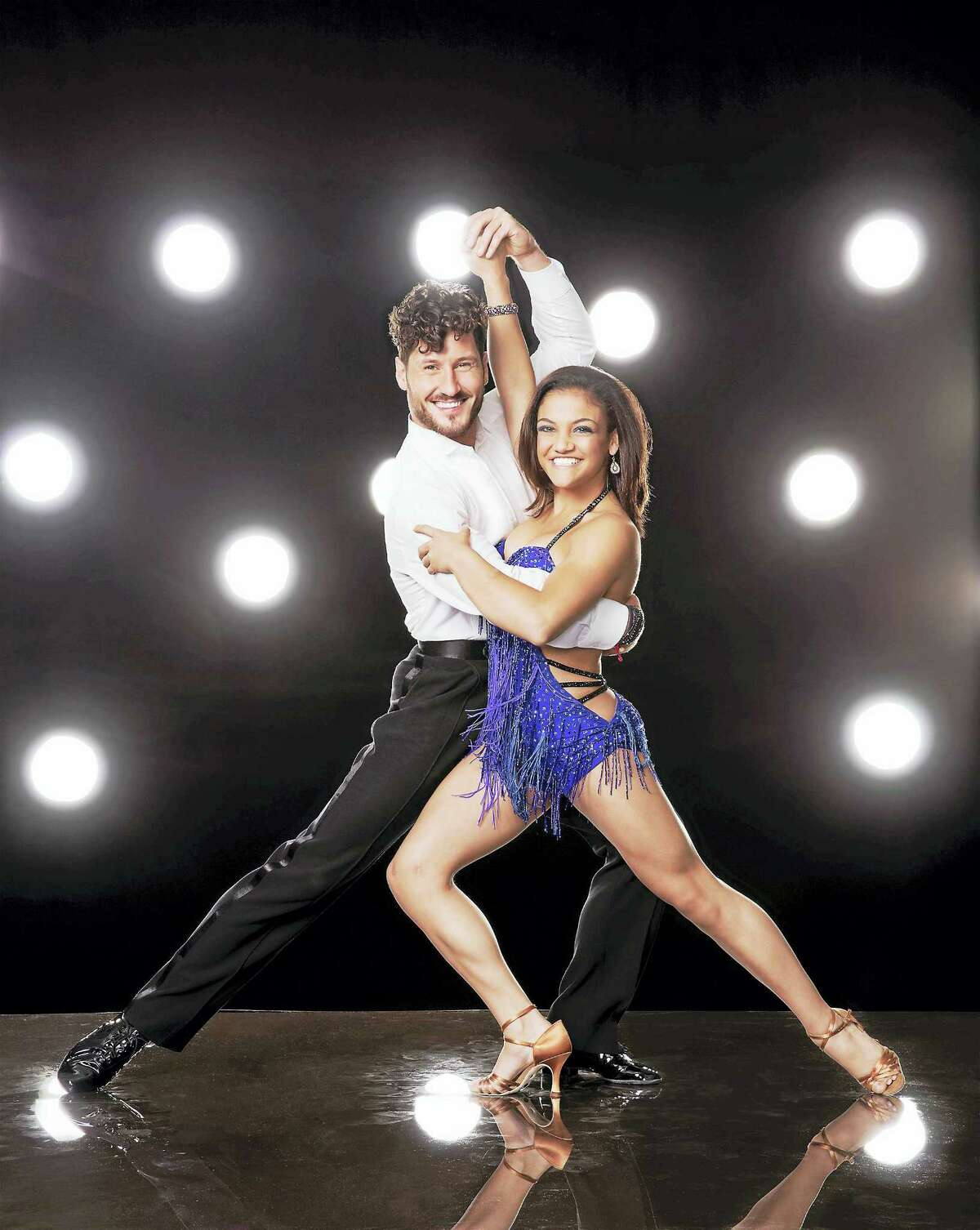 Val Chmerkovskiy and Laurie Hernandez are slated to perform at Mohegan Sun Arena.