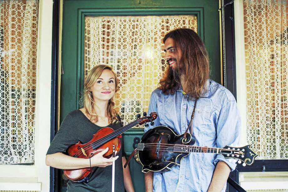 Carolyn Kendrick and Jake Howard of The Page Turners Photo: Photo Courtesy Of GuitartownCT