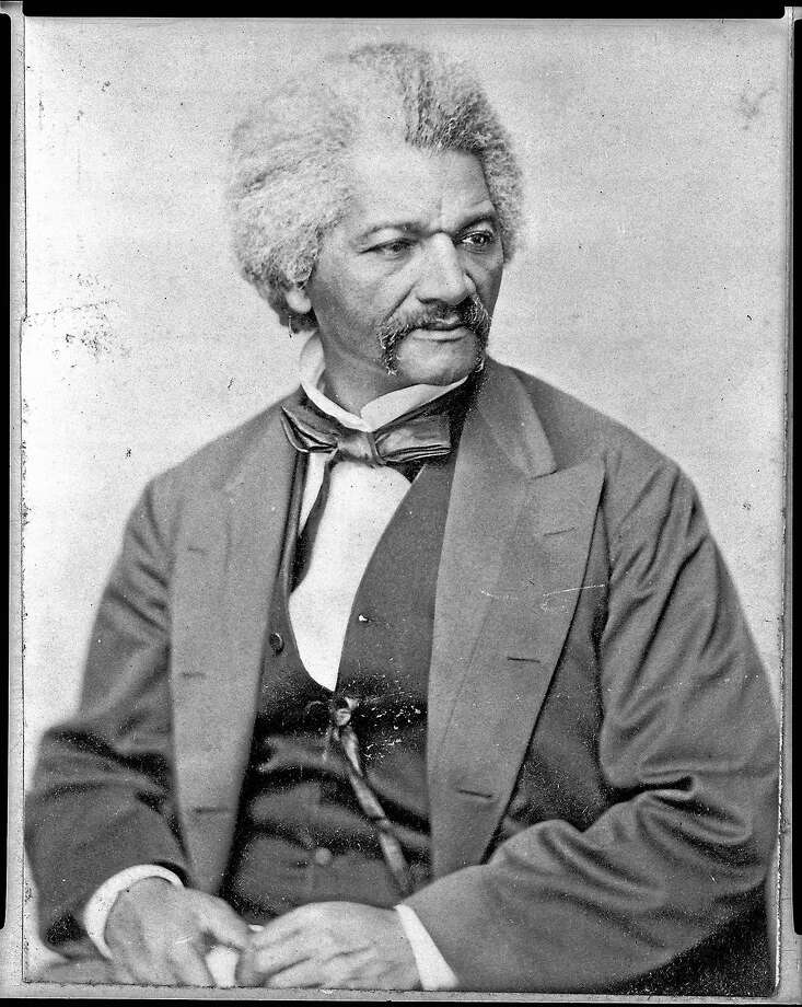Frederick Douglass is shown in this 1870 image by George Francis Schreiber. Photo: George Francis Schreiber Via Library Of Congress   / Library of Congress