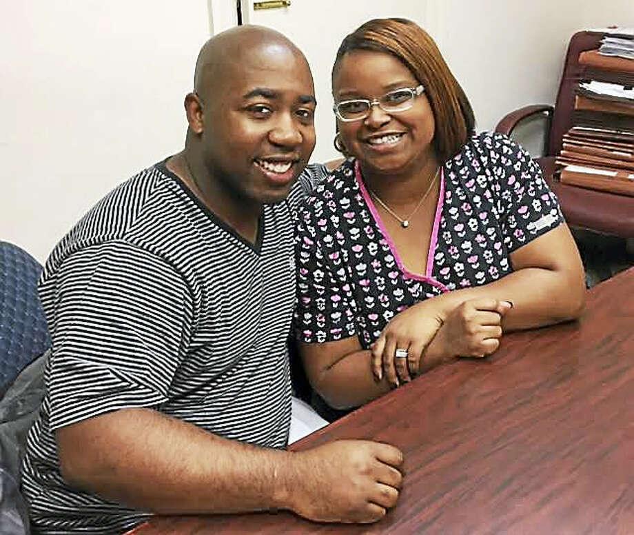 Rickey and Jessica Traynham Photo: Hamden Economic Development Corp.