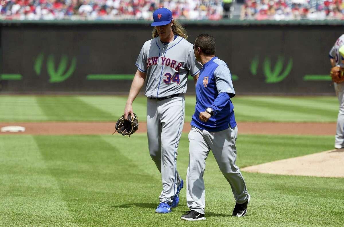 New York Mets starting pitcher Noah Syndergaard.