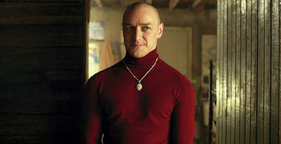 "This image released by Universal Pictures shows James McAvoy in a scene from, ""Split."" (Universal Pictures via AP) Photo: AP / Copyright: © 2016 Universal Studios. ALL RIGHTS RESERVED."