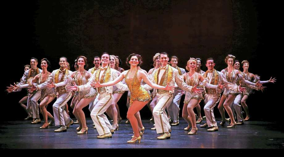 "One of many iconic moments in ""42nd Street."" Photo: Contributed"
