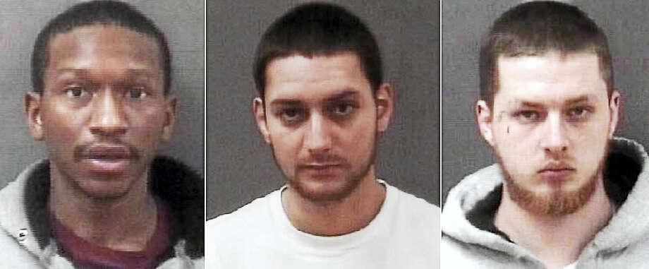 Carlton Tucker, Eric Martinez and Edward Pighinni Photo: Photos Courtesy Of The Milford Police Department