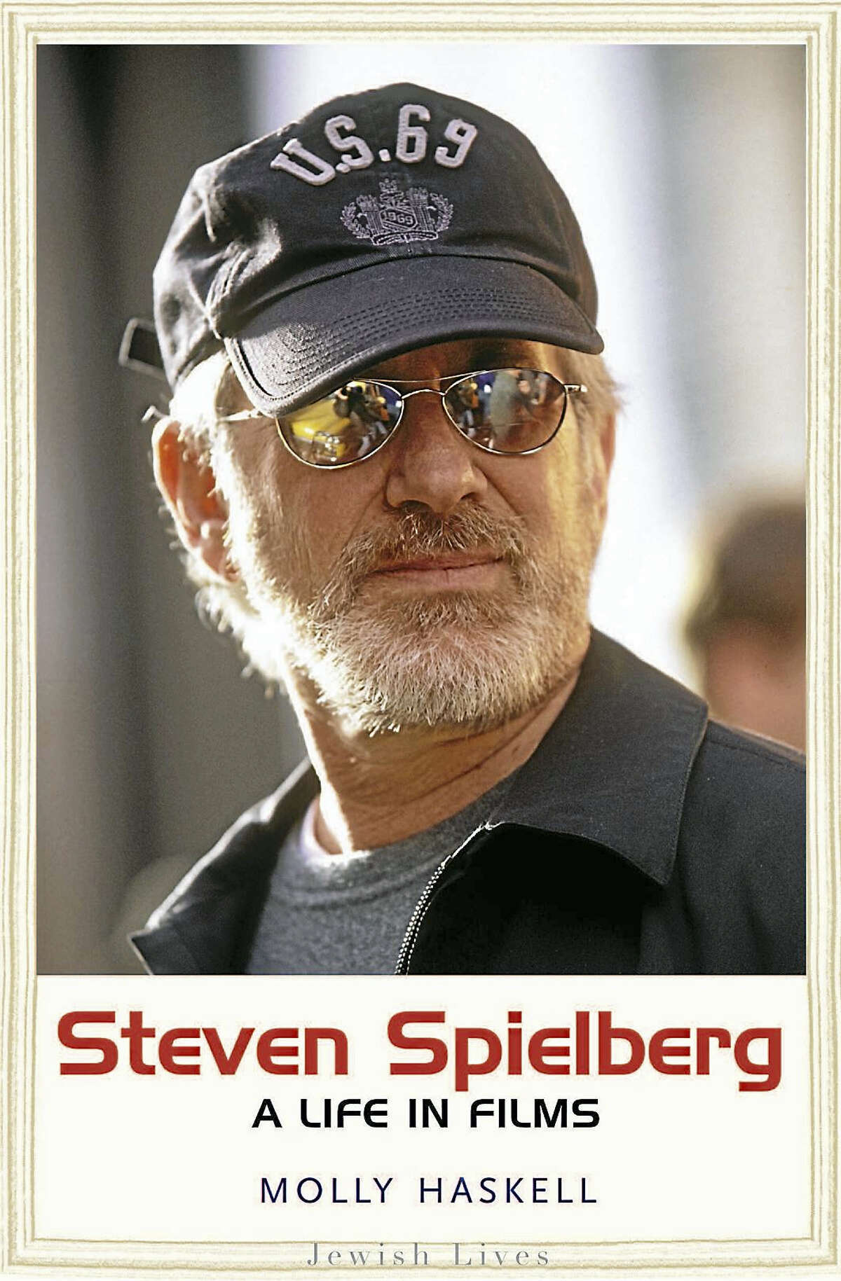 """The cover of """"Steven Spielberg: A Life in Films."""""""