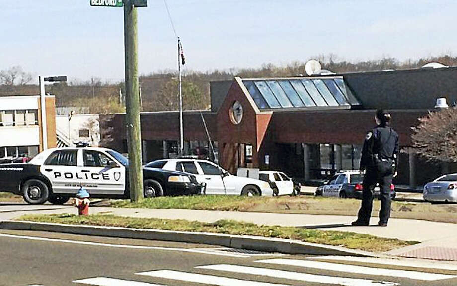 Three men face decades in federal prison for their roles in the robberies of the Allingtown Post Office in West Haven (shown here) and a bank in Hamden. Photo: New Haven Register File Photo