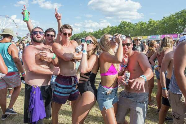 More than 10,000 party goers packed the annual Float Fest along the San Marcos River over the weekend of July 22-23, 2017.