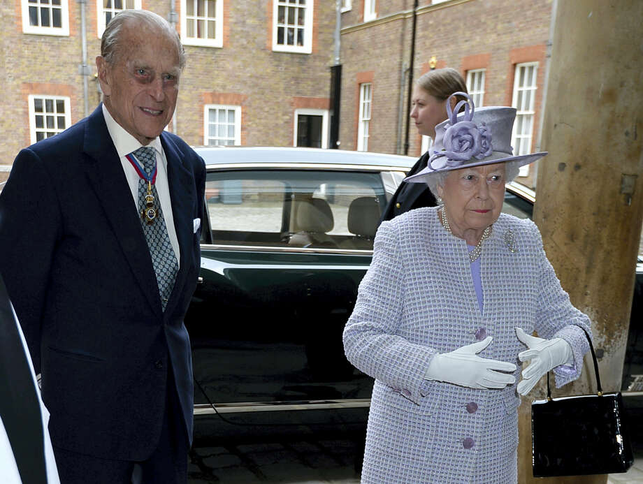Britain's Queen Elizabeth, right, and  Prince Philip, the Duke of Edinburgh arrive at Chapel Royal in St James's Palace, London, for an Order of Merit service, Thursday May 4, 2017. Prince Philip, the consort known for his constant support of his wife Queen Elizabeth II as well as for his occasional gaffes, will retire from royal duties this fall, Buckingham Palace said Thursday. Photo: John Stillwell/Pool Photo Via AP    / Pool PA