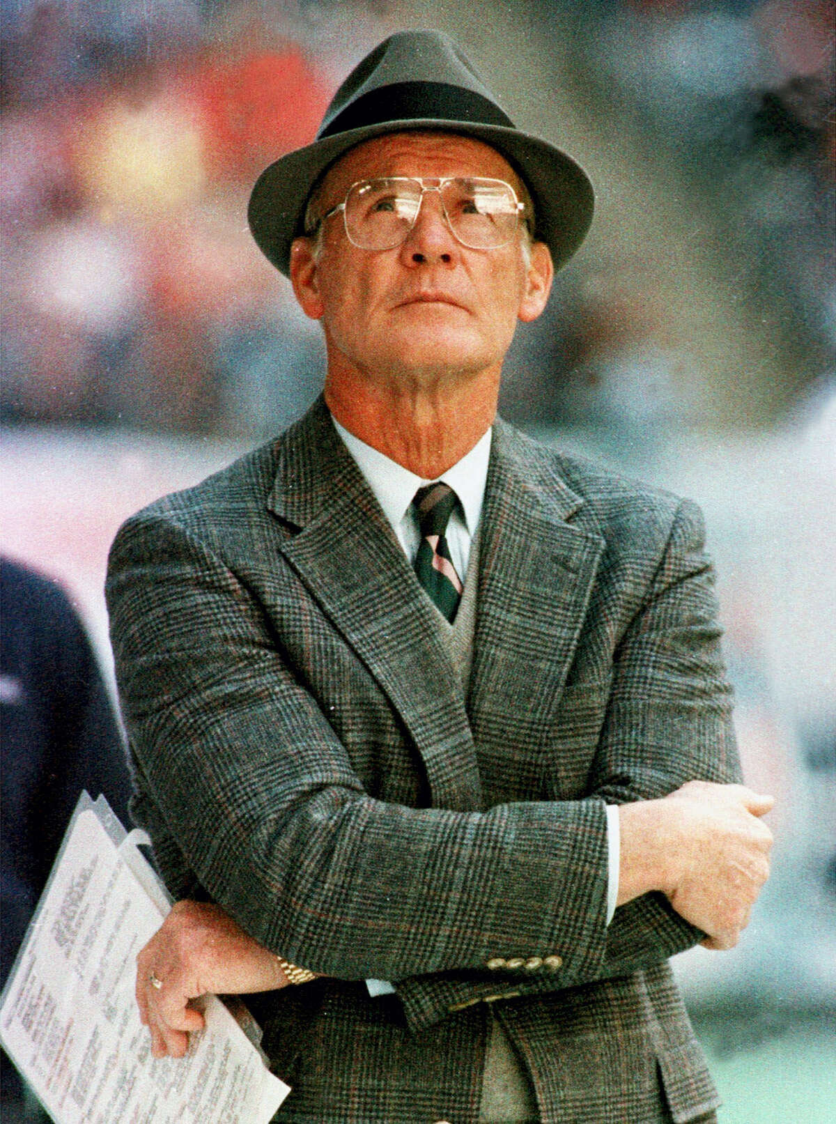 Former Dallas Cowboys head coach Tom Landry.