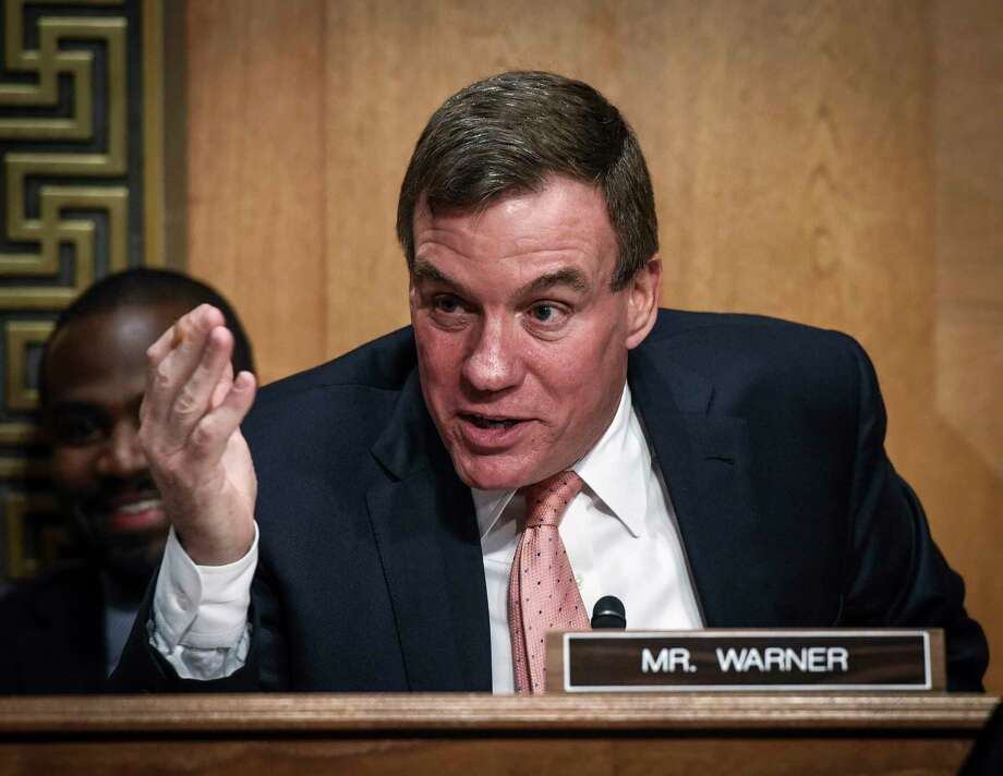 Sen. Mark Warner in May; he has been thrust into the limelight by his vice-chairmanship of the Senate Intelligence committee, tasked with leading the investigation into Russian meddling in the last election. Photo: Washington Post Photo — Bill O'Leary   / The Washington Post