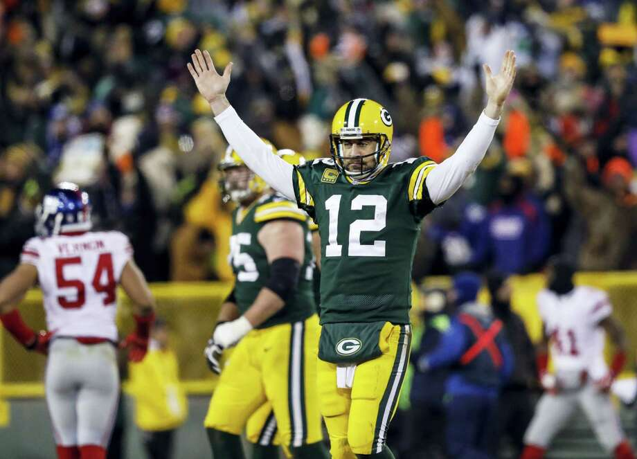 Packers quarterback Aaron Rodgers. Photo: The Associated Press   / FR59249 AP
