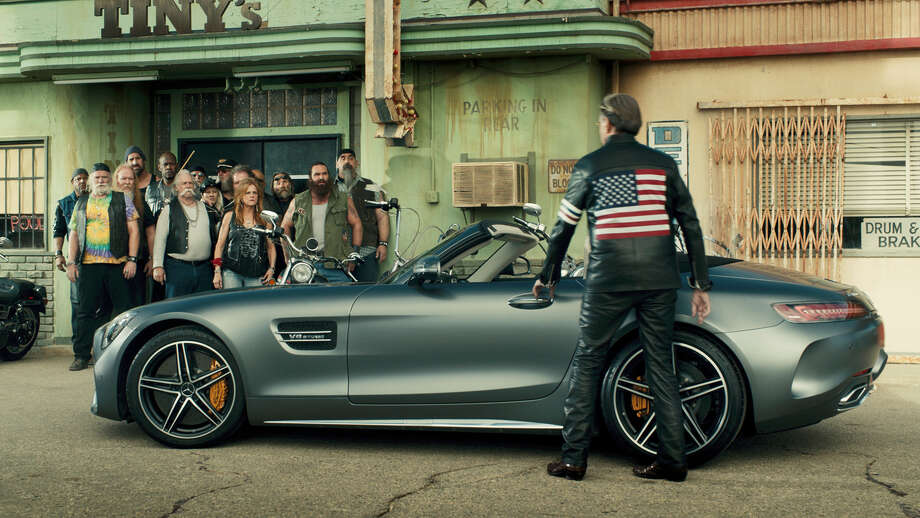 """An image from the Mercedes-Benz company's """"Easy Driver"""" Super Bowl 51 commercial. Photo: Mercedes-Benz USA Via AP / Mercedes-Benz USA"""