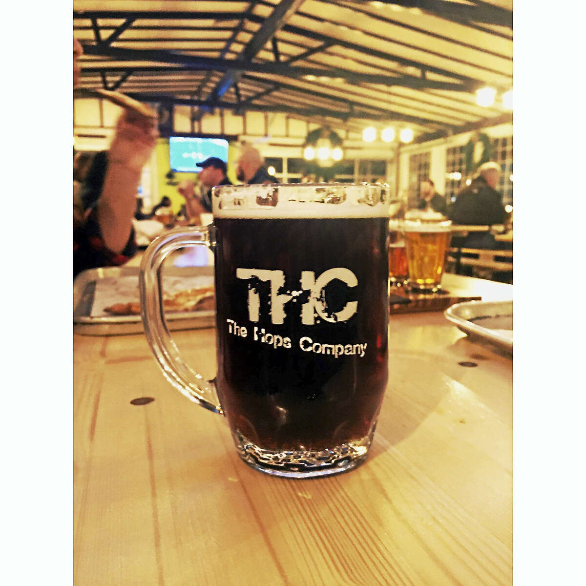 """The Hops Company voted """"Best Bar Beer"""" by Connecticut Magazine."""