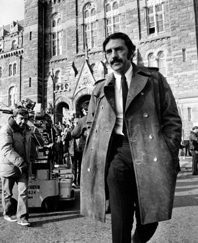 William Peter Blatty at Georgetown University in Washington around 1980. Photo: Warner Bros.    / Warner Bros.