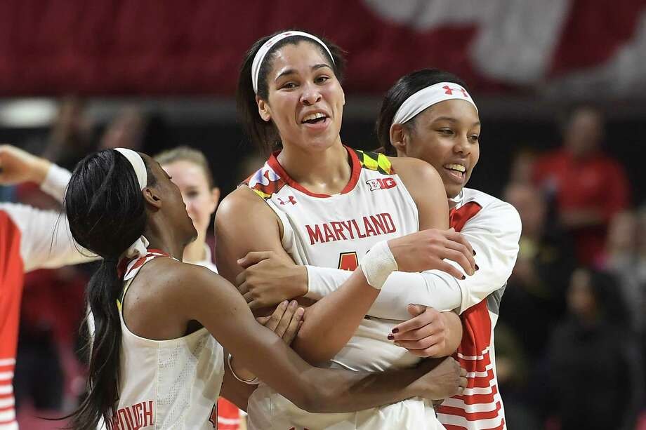 Maryland Terrapins center Brionna Jones Photo: 42   / The Washington Post