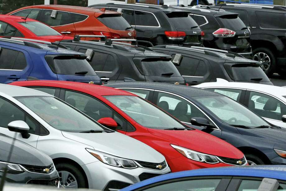 Cars on a dealer lot in Pittsburgh. Photo: Gene J. Puskar — The Associated Press File   / Copyright 2017 The Associated Press. All rights reserved.
