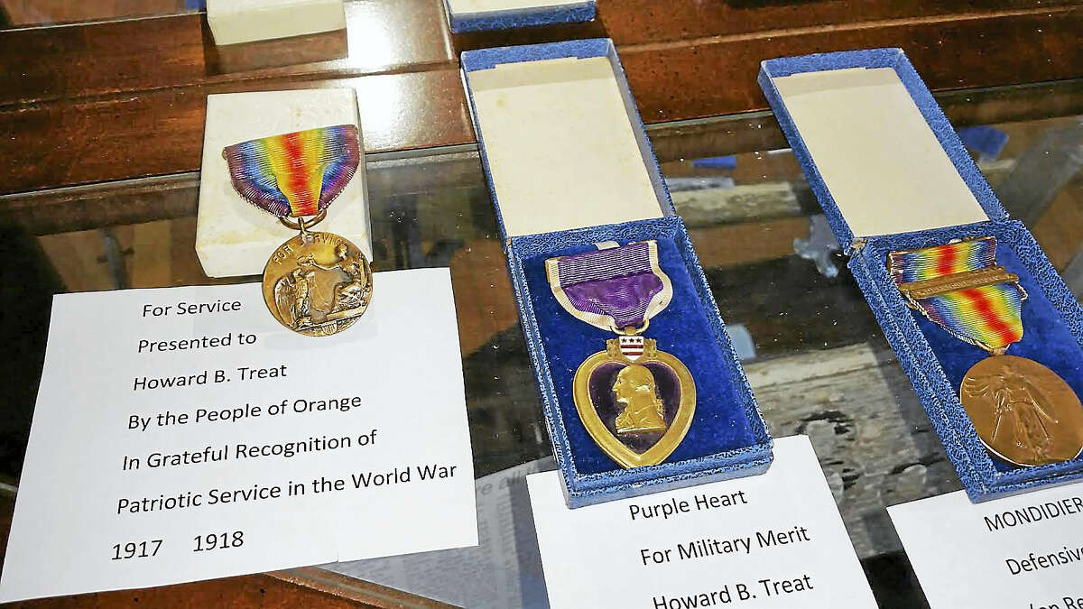 Items from the exhibit that will be on display at the Historical Society during its Open House Saturday and Sunday from 11 a.m. to 4 p.m.