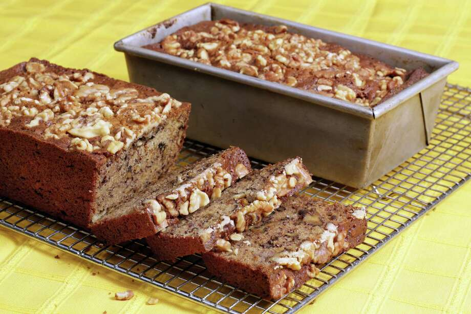 Three-bowl banana bread. Photo: Richard Drew — The Associated Press   / AP