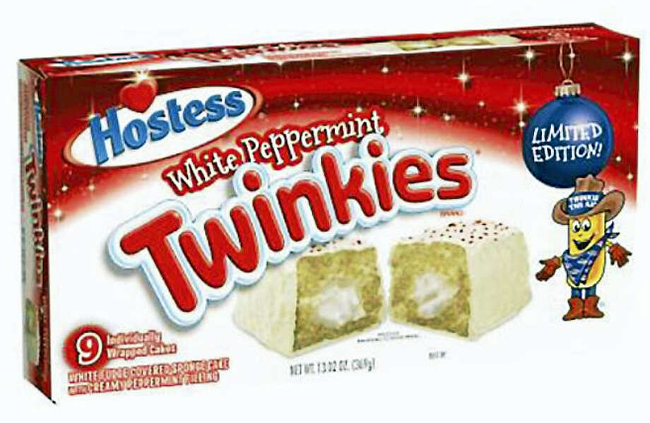 Hostess Brands, LLC is recalling its Holiday White Peppermint Hostess Twinkies amid concerns that they might be contaminated with salmonella. Photo: Photo Courtesy Of Hostess Brands