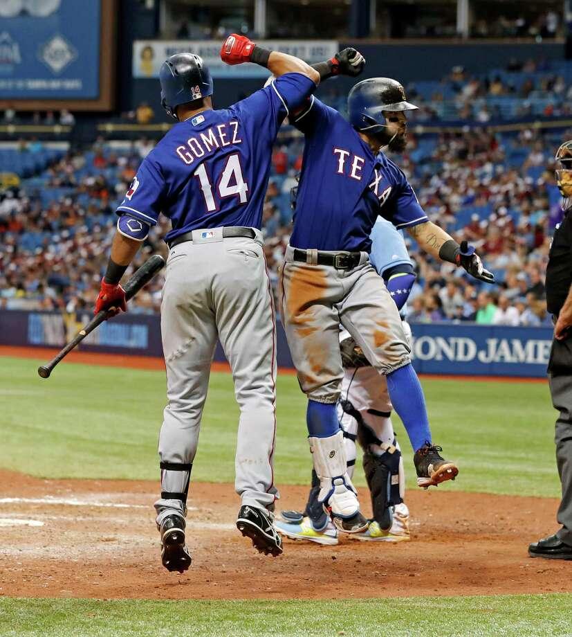 MLB: Odor Homers Twice, Rangers Sweep Rays With 6-5 Win