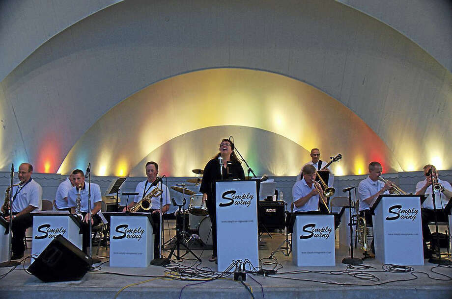 """The 102nd U.S. Army Band's """"Simply Swing"""" ensemble Photo: City Of West Haven"""