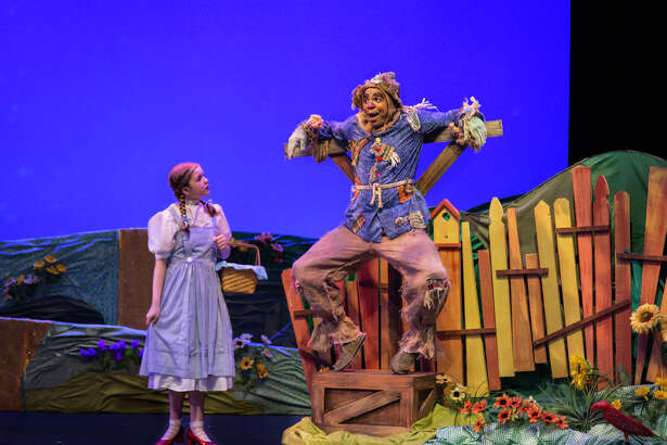 "Friendswood High School sophomore Isabella Morrison, shown with Chioke Coreathers, stars in  Main Street Theater's production of ""The Wizard of Oz,"" playing through July 29 at MATCHbOX 4, 3400 Main St. in Houston. Details: 713-524-9196 or visit www.mainstreetheater.com."