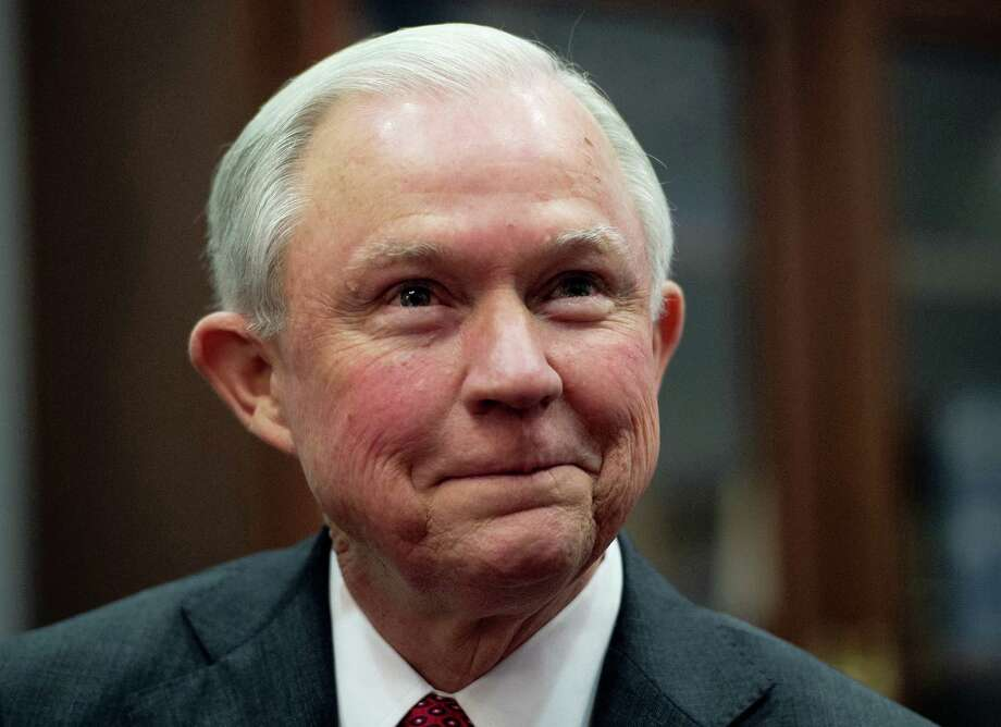 Attorney General-designate Sen. Jeff Sessions, R-Ala. is seen on Capitol Hill in Washington. Photo: Molly Riley — AP File Photo / Copyright MOLLY RILEY